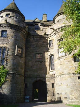 Falkland Palace, Amber L - September 2010