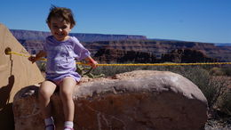 The west rim has so many beautiful views of the canyon., Cutie Repolinos - October 2014