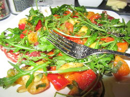 Photo of Amsterdam Amsterdam Canals Cruise with Dinner Cooked On Board I want this salad now!