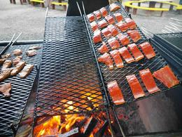 Photo of Juneau Juneau in One Day: Mendenhall Glacier, Whale Watching and Salmon Bake Juicy Salmons