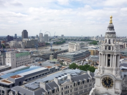 Photo of   London skyline from St Paul's dome.