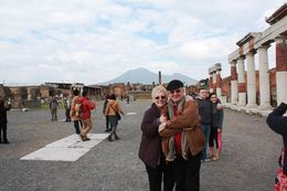 Me, my Wife visiting Pompei site , Dan S - March 2014