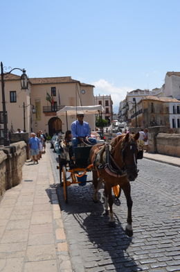 Photo of Costa del Sol Ronda and Tajo Gorge Day Trip from the Costa del Sol Puente Nuevo carriage