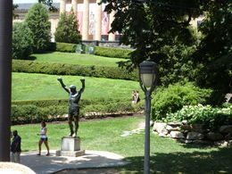 One of the stops that this tour does. The stairs where Rocky Balboa jogged in the Rocky Balboa movies is right next to the statue. , Lisa F - July 2013