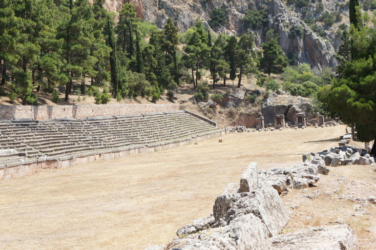 Stadium at Delphi - Athens