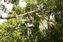 Photo of Cancun Yucatan Adventure: Snorkel, Zipline and Tulum Ruins Tour The Avatar! Roller Coaster zipline