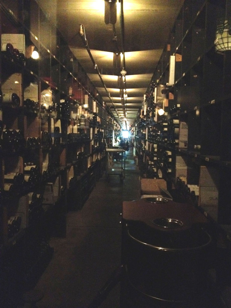 The wine cellar at Antoines - New Orleans