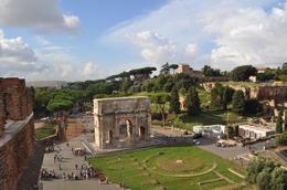 Photo of Rome Skip the Line: Ancient Rome and Colosseum Half-Day Walking Tour View from high above