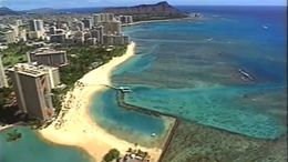 The beautiful coast of Waikiki from the Oahu Helicopter Tour! - July 2011