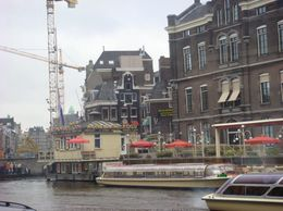 On the way to downtown Amsterdam. - March 2008