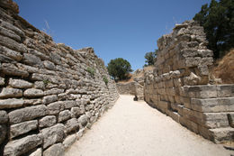 Archaeological site in Troy, entrance to the ancient city of Greek legends. - May 2011