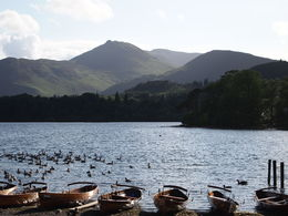 This is the lake that is in Keswick where my tour group stayed. A beautiful area. , Irma - July 2013