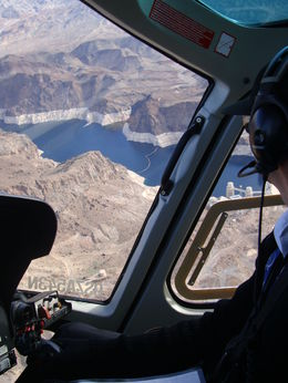 The view from the helicopter, Emily - March 2014