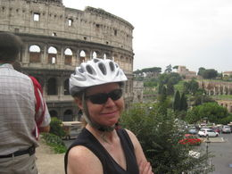 Photo of Rome Rome City Bike Tour First stop : The Colosseum