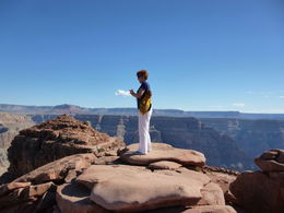 Photo of Las Vegas Grand Canyon West Rim Air and Ground Day Trip from Las Vegas with Optional Skywalk Great view!
