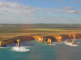 The helicopter ride over the 12 Apostles was a highlight of the trip. , Kevin F - June 2014