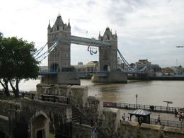 View of The Tower Bridge from The Tower of London , Dianne S - September 2012