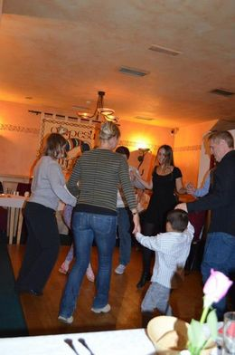 Irish dance lesson (shy people, you are not forced to participate ;) , Crystal C - September 2012