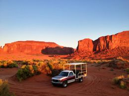 Photo of Las Vegas 7-Day National Parks Camping Tour: Zion, Bryce Canyon, Monument Valley and Grand Canyon South Rim Jeep tour in Monument Valley