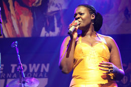 Photo of Cape Town Cape Town Jazz Safari Judith Sephuma at Jazz Festival, Cape Town