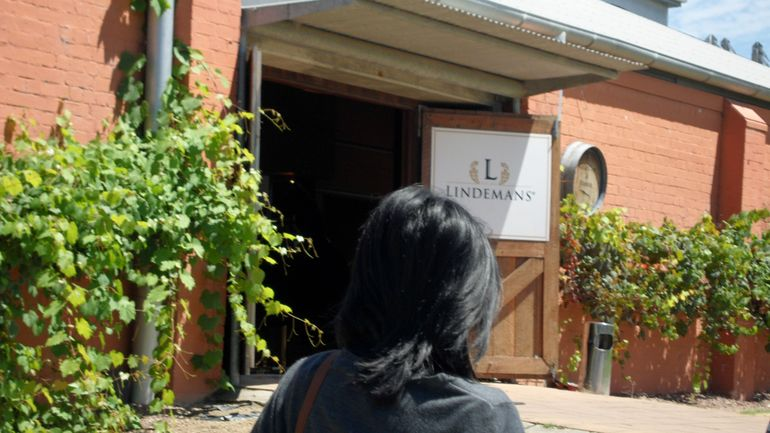 Lindeman's Winery entrance in Hunter Valley - Sydney