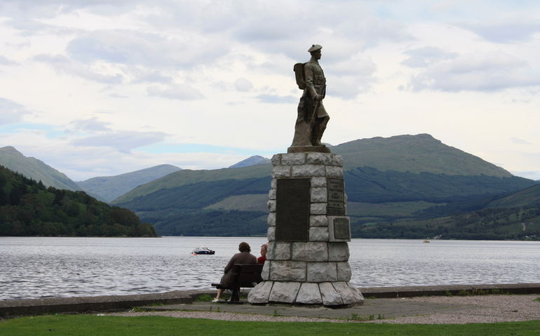 Loch Fyne, Inveraray - Edinburgh