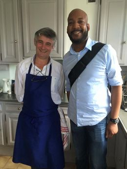 Me and Chef Fredrick , b_yancey - June 2015