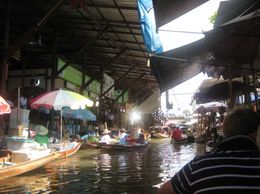 Photo of Bangkok Floating Markets of Damnoen Saduak Cruise Day Trip from Bangkok On board cruising