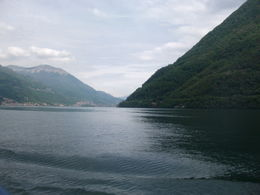 Photo of Milan Lake Como Day Trip from Milan On the boat on Lake Como