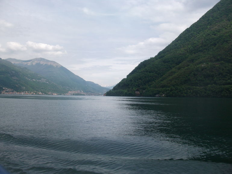On the boat on Lake Como - Milan