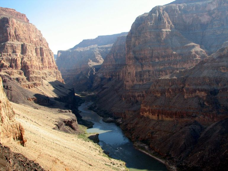 Our private view of the Grand Canyon - Las Vegas