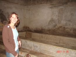 Standing in front of a thermal bath. - December 2007