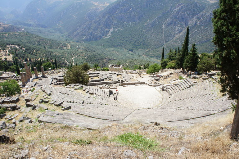 Theater at Delphi - Athens