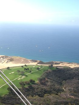 Soaring over the Torrey Pines golf course and gliderport , SDpisces-girl - November 2013