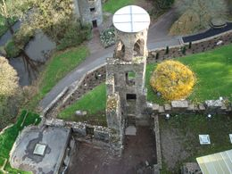The view from the top of Blarney Castle after 'Kissing the Blarney Stone' which, by the way, is NOT for the faint of heart - June 2011