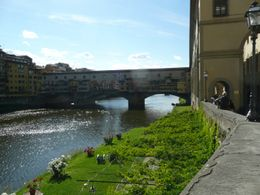 Photo of   View of Ponte Vecchio from Vasari Corridor