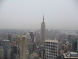Photo of New York City Top of the Rock Observation Deck, New York What a View!