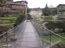 Photo of Barcelona Small-Group Medieval Villages Day Trip from Barcelona A bridge in the second village