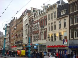 Downtown Amsterdam - March 2008