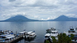 Photo of Guatemala City 5-Day Tour from Guatemala City: Antigua, Chichicastenango, Panajachel and Santiago Atitlán At the dock, Lake Atitlan