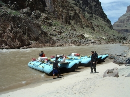 Photo of Las Vegas Grand Canyon White Water Rafting Trip from Las Vegas At the start