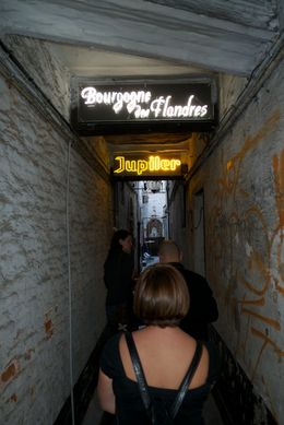 "Photo of Brussels Brussels Night Walking Tour: Gourmet Belgian Food ""Beer Alley"""