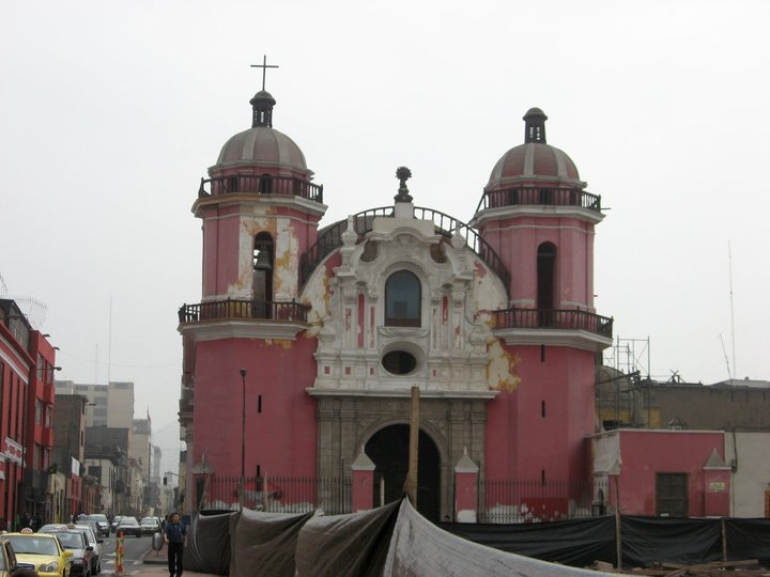 Church in Downtown - Lima