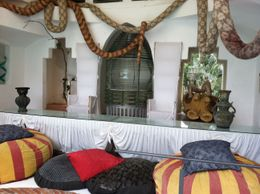 A sitting room in Salvador Dali's home , Gilbert S - November 2011