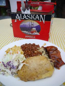 Photo of Juneau Juneau in One Day: Mendenhall Glacier, Whale Watching and Salmon Bake Dinner at Salmon Bake