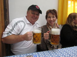 Photo of Munich Munich Oktoberfest Tickets and Tour Enjoying the fantastic Oktoberfest beer, Prost!