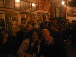 Enjoying fado and a meal in the Bairro Alto , Sara T - April 2013