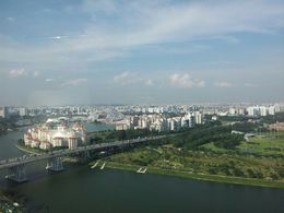 Full view onto Singapore from the Flyer , Mark K. - October 2013