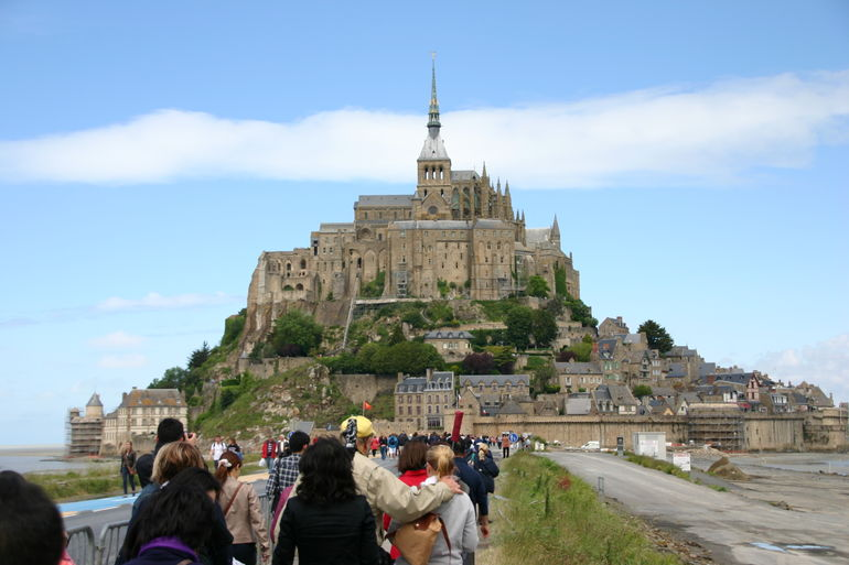 Mont Saint Michel - Paris