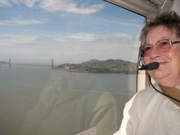 Photo of San Francisco San Francisco Vista Grande Helicopter Tour My mum enjoying the scenery
